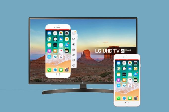 Mirror An Iphone 7 Onto Lg Smart Tv, Best Screen Mirroring App For Iphone To Lg Tv