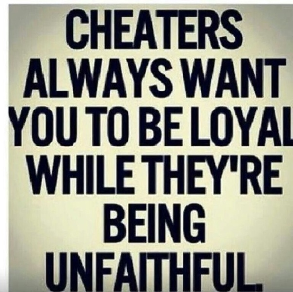 What happens when a narcissist catches you cheating do they take you