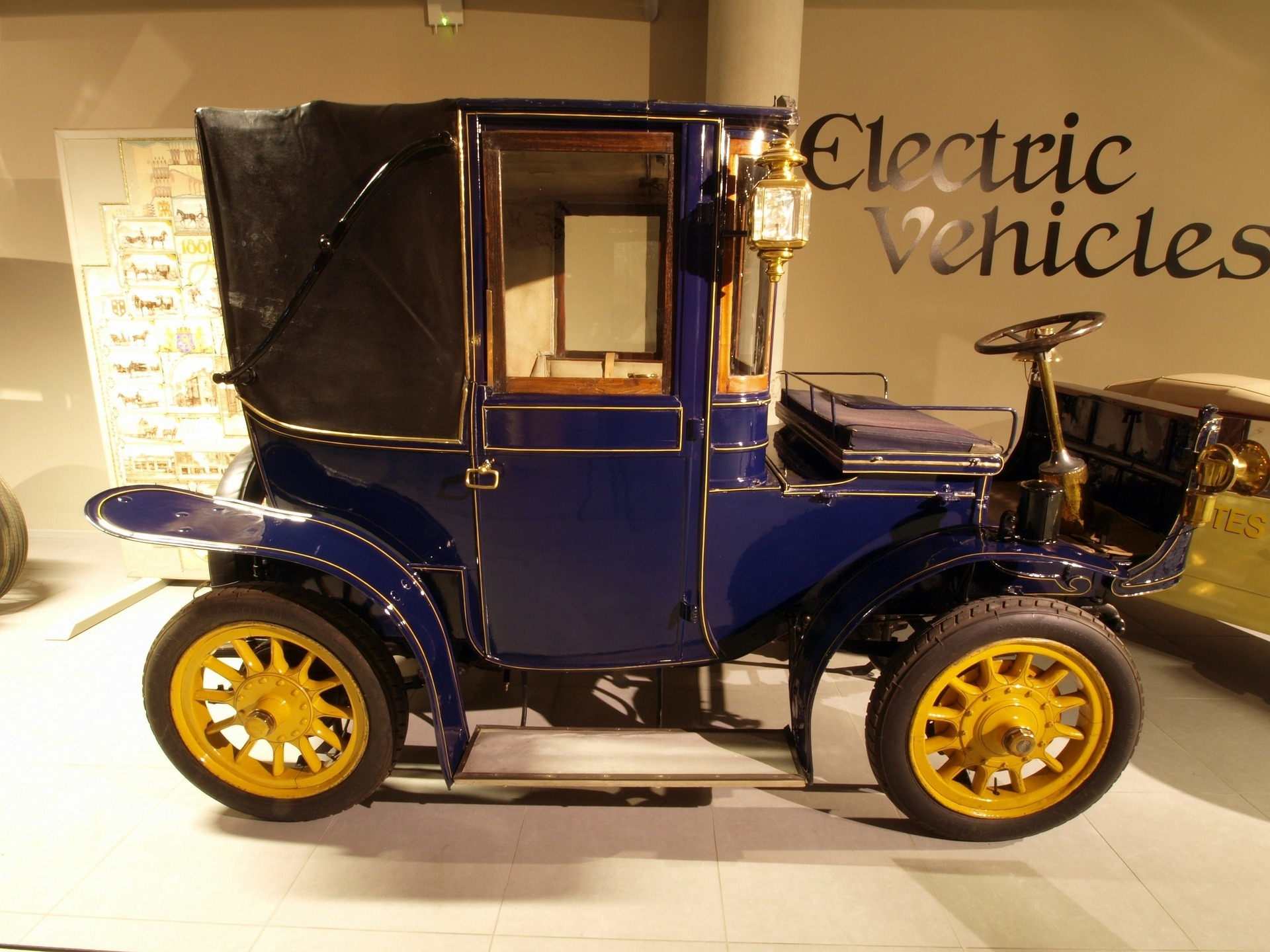 And Several Electric Cars Rolled Out Of Factories As Contemporaries Ford S Model T The Basic Mechanics An Car Are Dirt Simple Battery