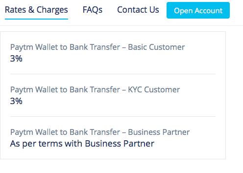 Can I transfer Rs  15000 from my PayTM to my bank? Will
