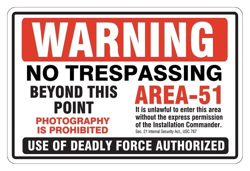 What security does Area 51 use? - Quora