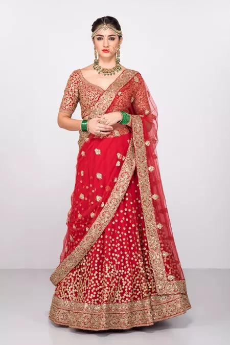Where Can I Buy A Sabyasachi S Bridal Lehenga Replica In