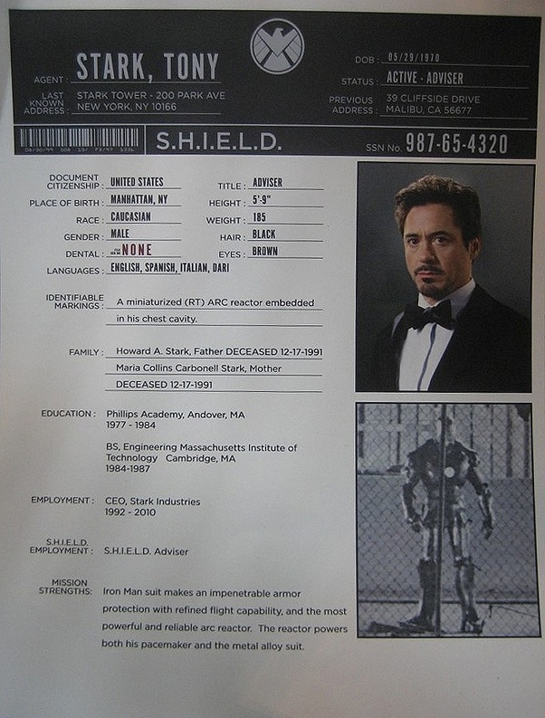 How old is Tony Stark in the first Iron Man movie? How old
