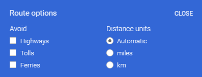 How to turn off the toll roads on Google maps - Quora