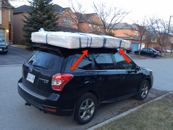 How To Strap Down Furniture On The Roof Of My Car Quora