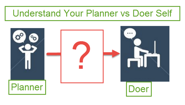 Bad Planner how to get my bad habit of planning but not following through