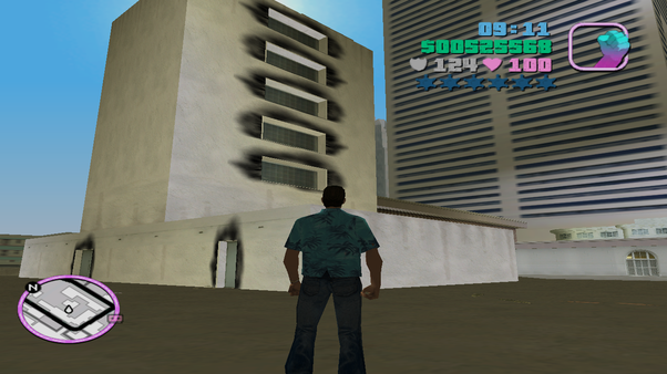 What is the weirdest thing you have seen in GTA: Vice City