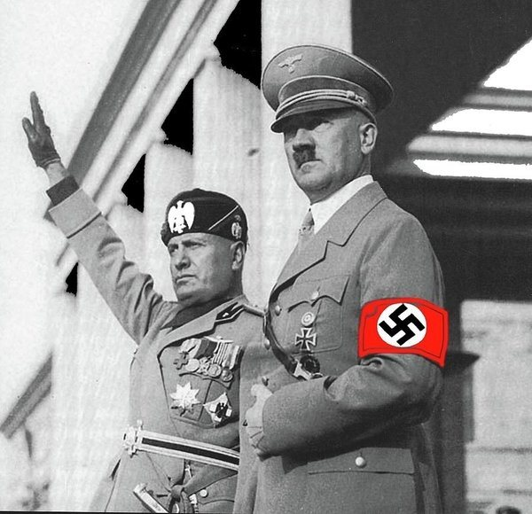 a comparison between adolf hitler and mussolini There is no doubt that adolf hitler and benito mussolini shared many similar characteristics they shared movements that were typical of national socialism: they adopted a radical nationalism, militaristic hierarchies, violence, the cult of charismatic leadership, contempt for individual liberties and civil rights, an anti-democratic and anti-socialist orientation, and a refusal to socialize.