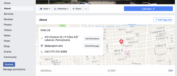 How To Add A Location To My Business Page On Facebook Quora - Add location on map