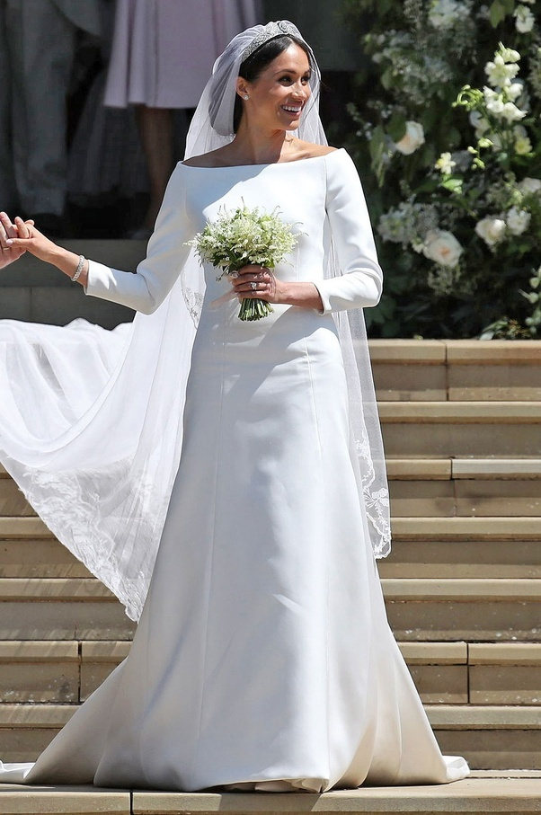 how did you feel about meghan markle s very simple wedding dress and hairstyle quora simple wedding dress and hairstyle