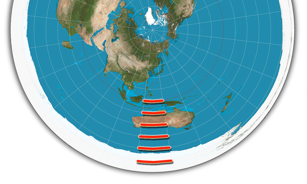 If the earth is flat is there a map that accurately reflects the this is why the flat earthers deny that the south pole exists because its location cannot be shown on their map just a supposed icewall that is the gumiabroncs Image collections