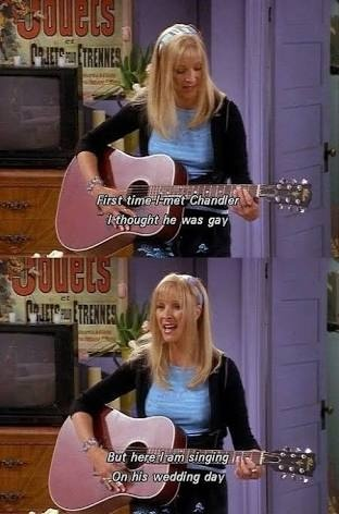 Friends (TV series): Is Lisa Kudrow really a good guitarist? - Quora