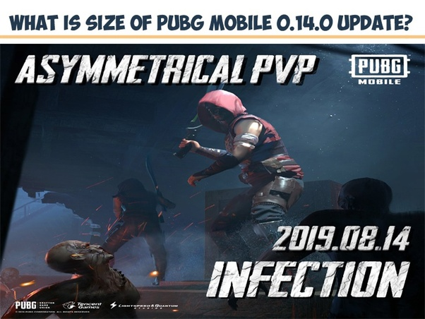 What is the size of the new updated PUBG in the emulator
