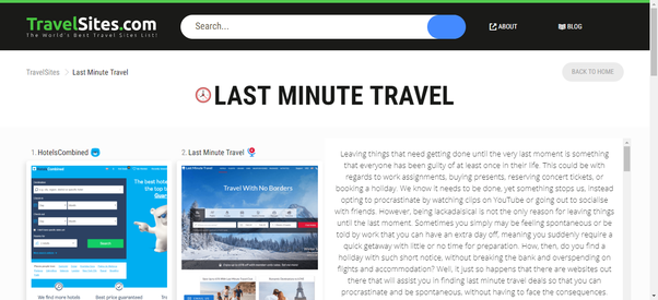 What Are The Best Sites For Getting Last Minute Hotel Deals Quora
