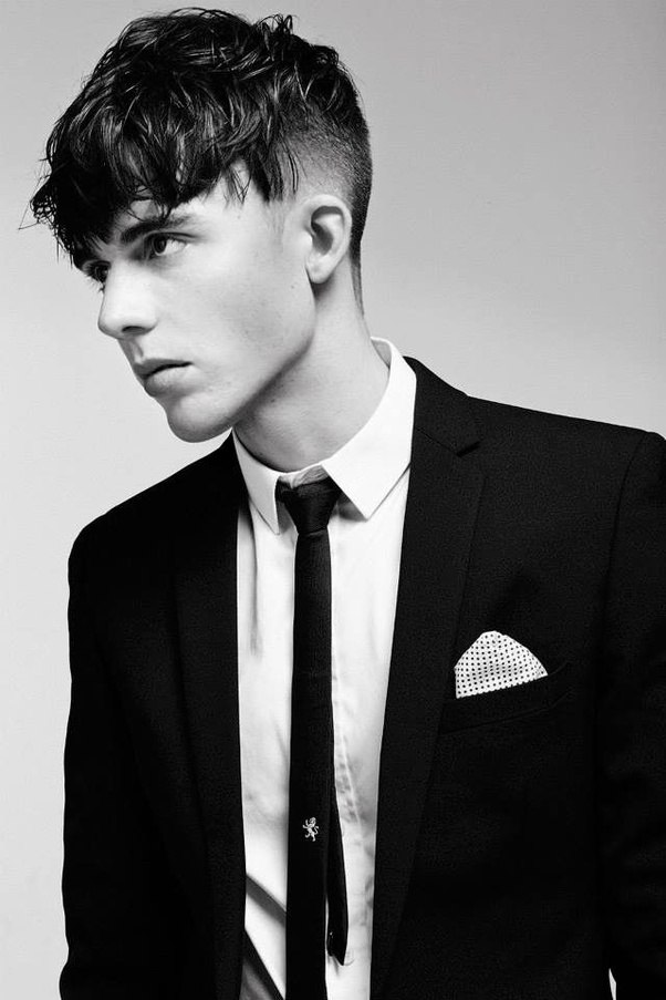 ... Short Hair Styles For Men #1 ANGULAR FRINGE
