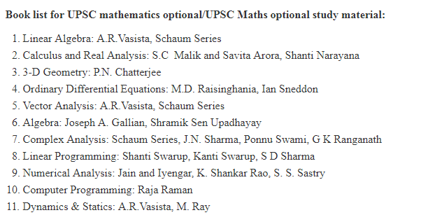 Is mathematics a good optional subject for UPSC? - Quora