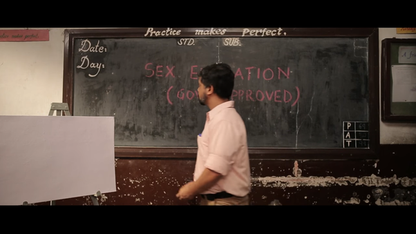 East India Comedy made a parody of Sex education in India.