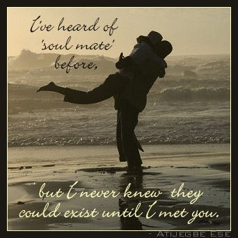 Soul mates do they exist