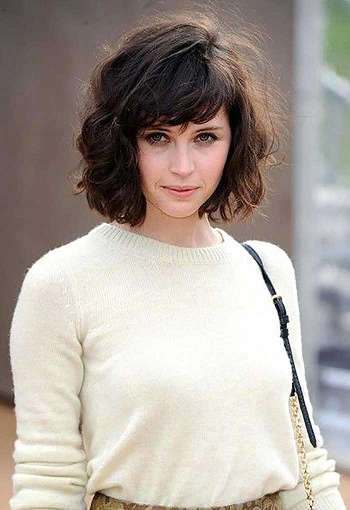 I want to cut my hair in a bob style, but I know my hair will become ...