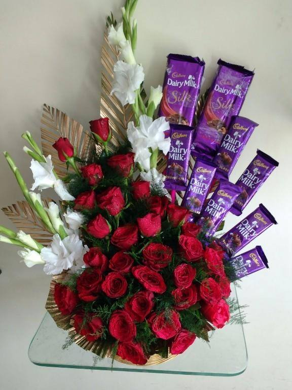 Should I send her flowers to her work with this message? - Quora