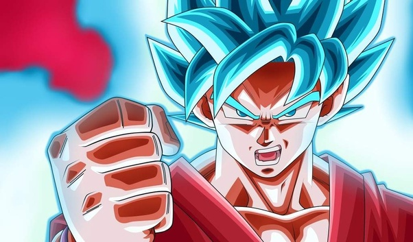 Which is stronger, Super Saiyan Blue or Super Saiyan God(Red)? - Quora