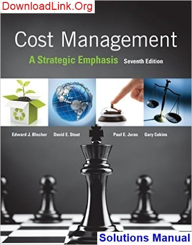 Cost Accounting A Managerial Emphasis Sixth Canadian Edition Pdf