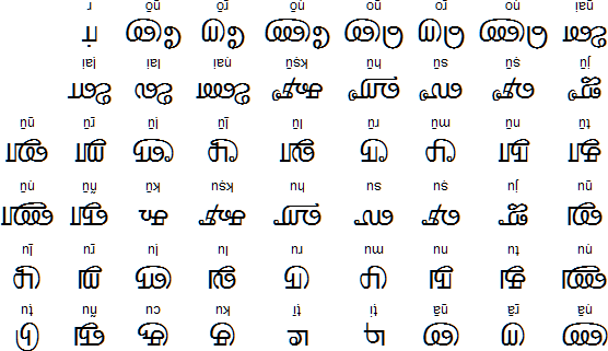 Why script of Kannada and Tamil so different inspite of belonging to