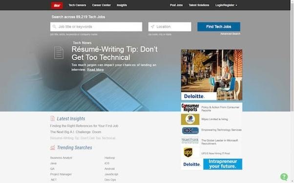 Which Is The Best Job Advertisement Website Quora