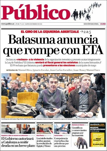 Where do Spanish newspapers stand, politically? - Quora