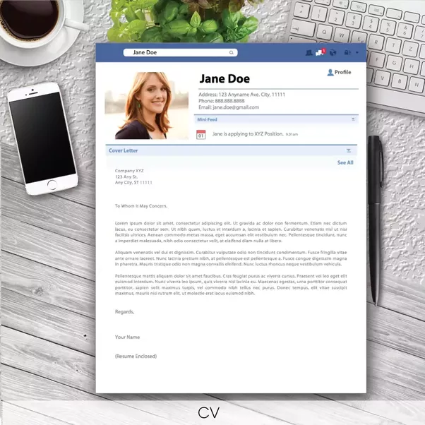 we have an awesome facebook inspired resume and cover letter that you might be interested in check it out creative resume template cover letter cv