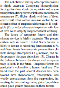 causes of afforestation in points