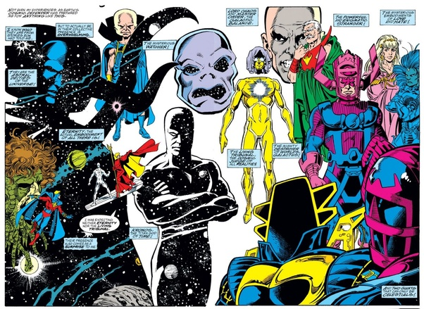 Who are among the most powerful beings in the Marvel Universe? - Quora