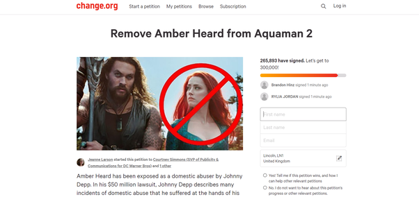 What would you like to see done to Amber Heard? - Quora