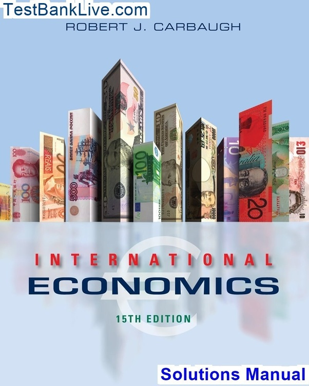 Where can i read a solutions manual for international economics.