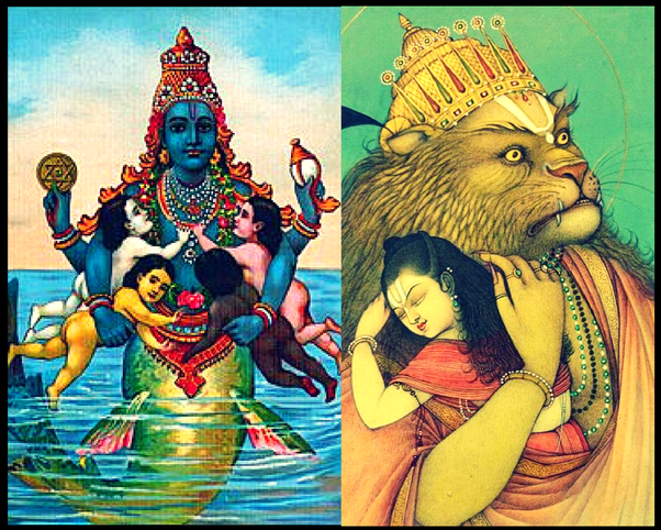 Did God Vishnu and Goddess Lakshmi have children?