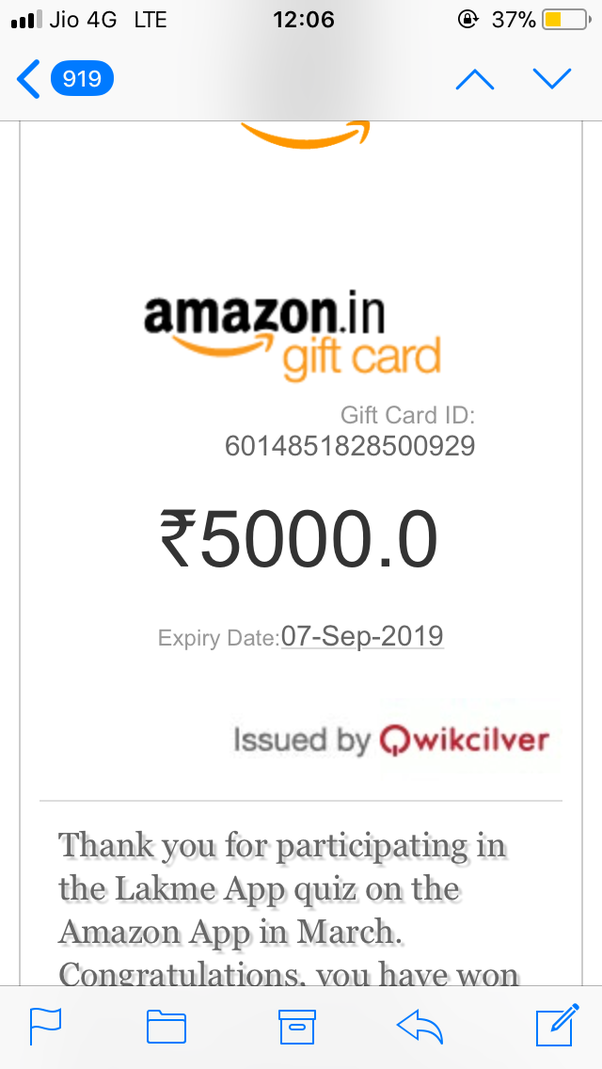 Has anyone won anything from Amazon in contests? - Quora