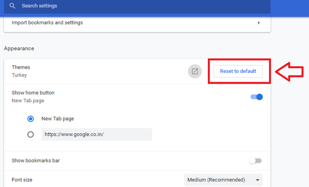 How To Reset Font Size In Google Chrome Resetting the Font