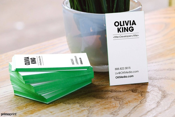 How to make an exclusive business card quora get a sturdy card stock 16pt or greater below is a 32pt thick business card its different and can make a statement reheart Gallery