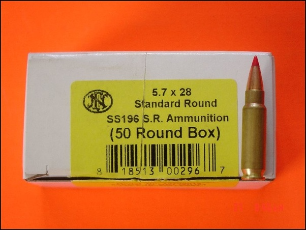 Is 5 7x28mm FMJ ammo legal? - Quora