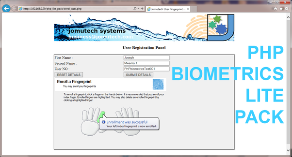 Can we integrate bio-metric attendance system with php? - Quora