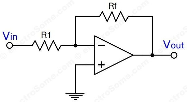 what is inverting amplifier