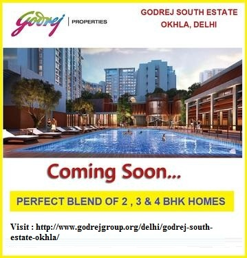 What is the New Project by Godrej South Estate Okhla, New