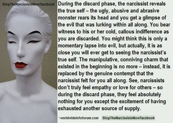 Discarded by a narcissist