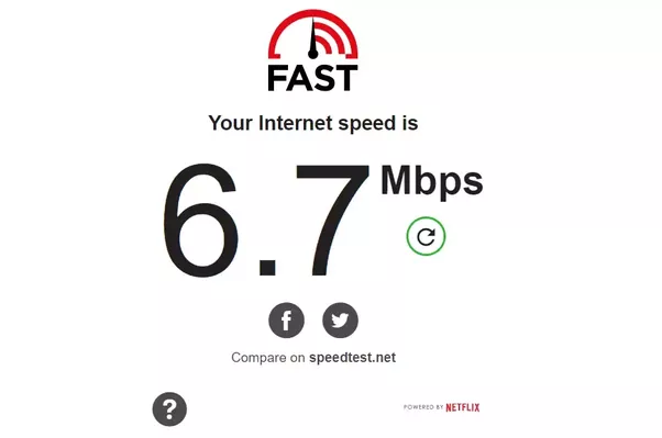 how to find what is using my internet speed