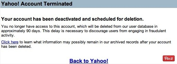 How to delete a Yahoo e-mail account - Quora