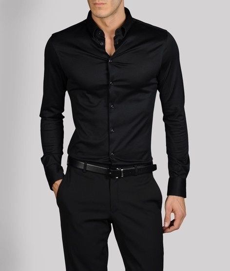 What colour of jeans suits a black formal shirt? - Quora