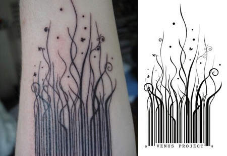 What Does A Bar Code Tattoo Mean Quora