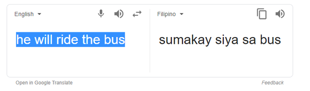 How good is Google Translate at translating English to