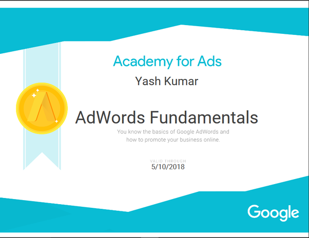 How much does Google Adwords certification cost? - Quora