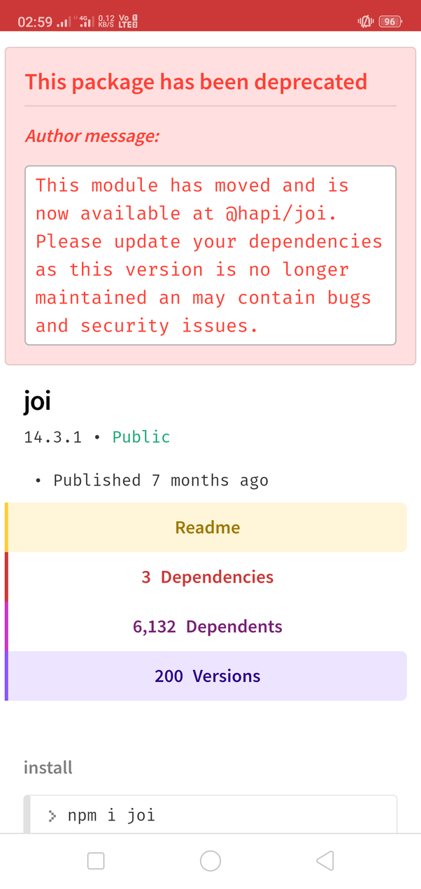 How good are the JOI modules in Node js? - Quora